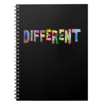 Autism Awareness Different Autism Awareness Notebook