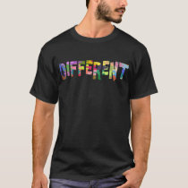 Autism Awareness Different Autism Awareness T-Shirt