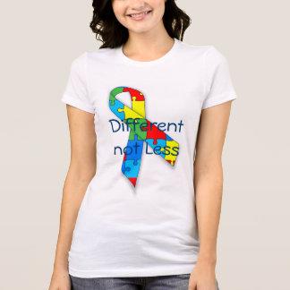 Autism awareness Different not Less t-shirt