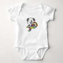 Autism Awareness Dog Baby Bodysuit