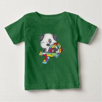 Autism Awareness Dog Baby T-Shirt