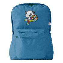 AUtism Awareness Dog Backpack