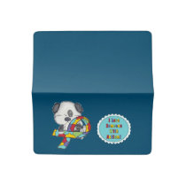 AUtism Awareness Dog Checkbook Cover