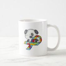 Autism Awareness Dog Coffee Mug