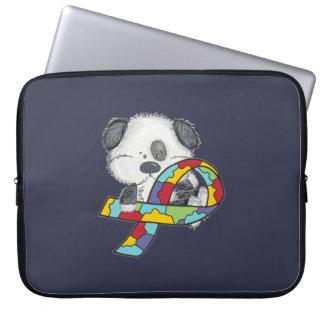 AUtism Awareness Dog Computer Sleeve