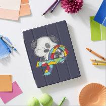 AUtism Awareness Dog iPad Smart Cover