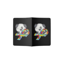 AUtism Awareness Dog Passport Holder