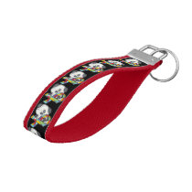 AUtism Awareness Dog Wrist Keychain