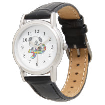 AUtism Awareness Dog Wrist Watch