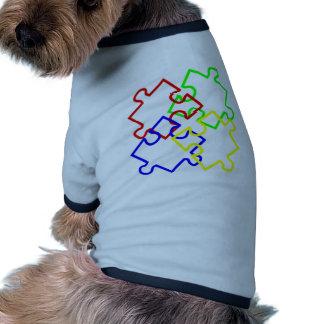 Autism Awareness Doggie Tee Shirt