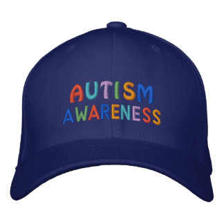 Autism Awareness Embroidered Baseball Hat