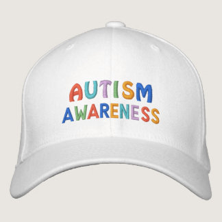 Autism Awareness Embroidered Baseball Hat