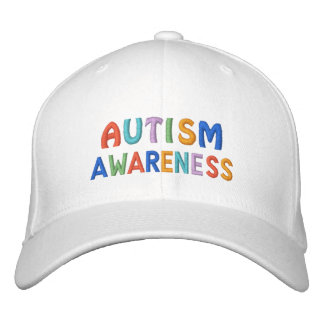 Autism Awareness Embroidered Hats