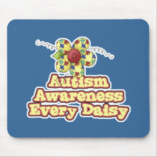 Autism Awareness Every Daisy (Day) Mouse Pad