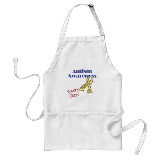 Autism Awareness Every Day Aprons