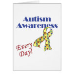 Autism Awareness Every Day Card