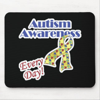 Autism Awareness Every Day Mouse Pad