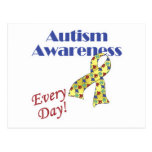 Autism Awareness Every Day Post Cards
