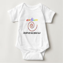 Autism Awareness exclusive products! Baby Bodysuit