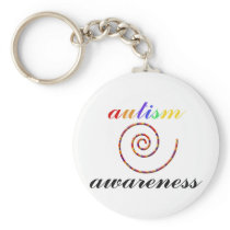 Autism Awareness exclusive products! Keychain