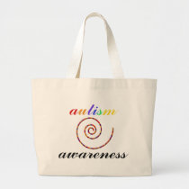 Autism Awareness exclusive products! Large Tote Bag