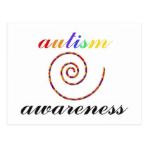Autism Awareness exclusive products! Postcard