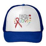 Autism Awareness - Faith, Hope, Love Hat