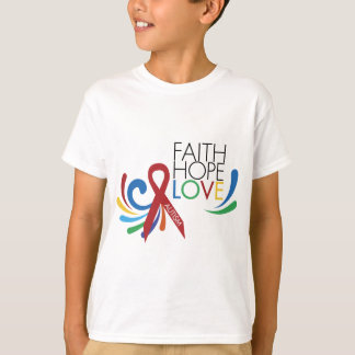 Autism Awareness - Faith, Hope, Love T-Shirt