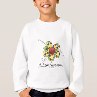 Autism Awareness Flower Sweatshirt