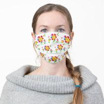 Autism Awareness Flowers Cloth Face Mask