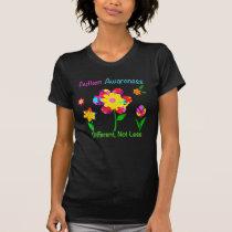 Autism Awareness Flowers T-Shirt