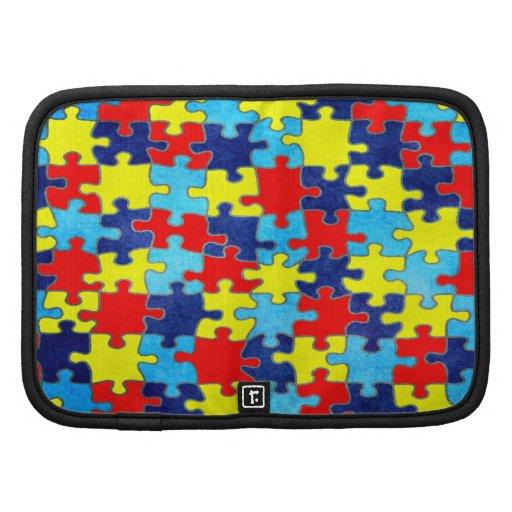 Autism Awareness Folio Planner