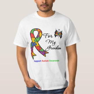 Autism Awareness For My Grandson Shirt