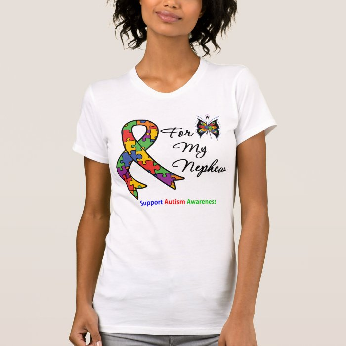 Autism Awareness For My Nephew T Shirt