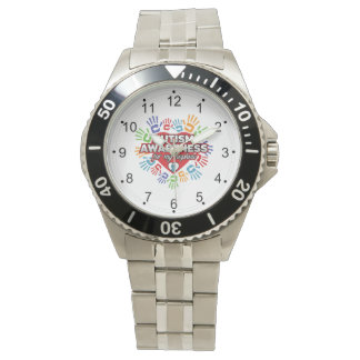 Autism Awareness for my Nephew Wristwatch