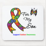 Autism Awareness For My Son Mouse Mat