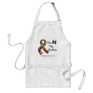 Autism Awareness For My Students Adult Apron