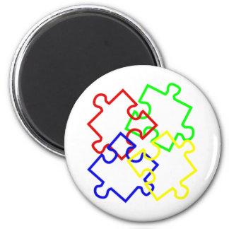 Autism Awareness Fridge Magnet