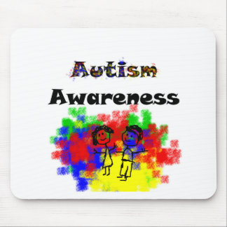 Autism Awareness Friends Mouse Pads