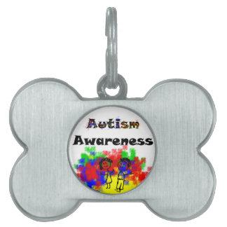 Autism Awareness Friends Pet Tag