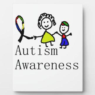 Autism Awareness Friends Plaque