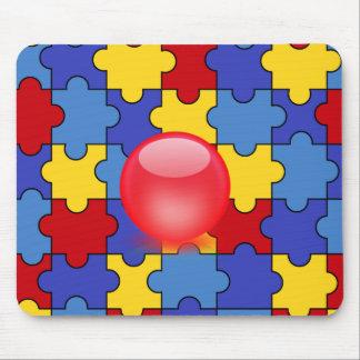 Autism Awareness Fun pad Mousepad