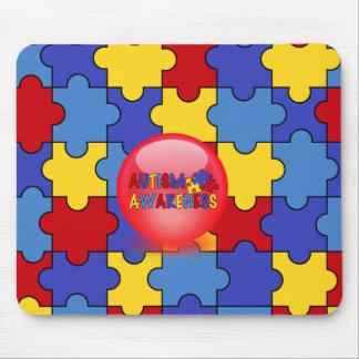 Autism Awareness Fun padRed  Mousepad