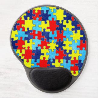 Autism Awareness Gel Mouse Pad