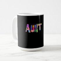 Autism Awareness Gift Autism Support Aunt Coffee Mug