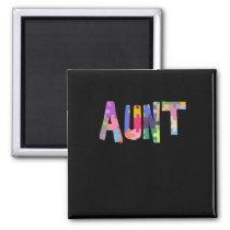 Autism Awareness Gift Autism Support Aunt Magnet