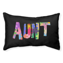Autism Awareness Gift Autism Support Aunt Pet Bed