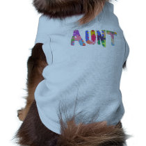 Autism Awareness Gift Autism Support Aunt Shirt