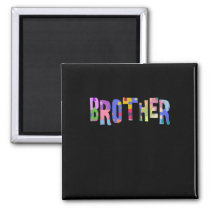 Autism Awareness Gift Autism Support Brother Magnet