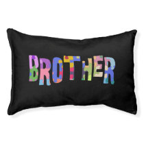 Autism Awareness Gift Autism Support Brother Pet Bed